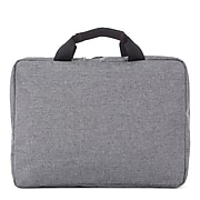 Swiss Mobility Sterling Polyester Slim Briefcase, Grey (EXB1071SMGRY)