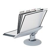 """Aidata 16""""H x 20""""W x 8""""D Metal Display Panel Holder, Gray (FDS031L)"""