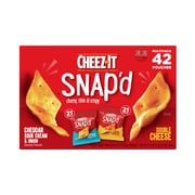 Cheez-It Snap'd Variety Pack Chips, Assorted, 42/Carton (KEE11501)