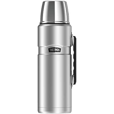 Thermos Sk2020sttri4 Stainless King Vacuum-insulation Beverage Bottle, 2l (silver)