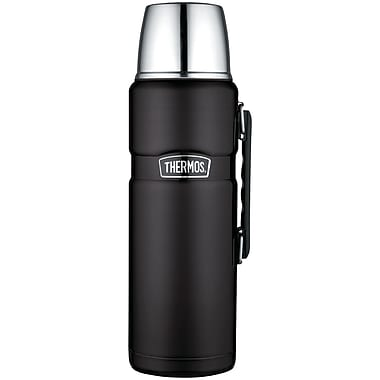 Thermos Sk2020bktri4 Stainless King Vacuum-insulation Beverage Bottle, 2l (matte Black)
