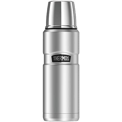 Thermos Sk2000sttri4 Stainless King Vacuum-insulated Beverage Bottle, 16oz (silver)