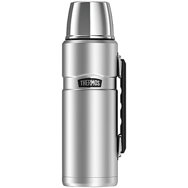 Thermos Sk2010sttri4 Stainless King Vacuum-insulated Beverage Bottle, 40oz (silver)