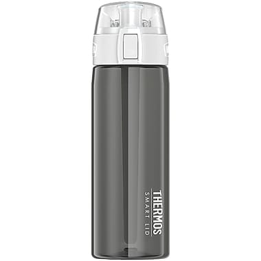 Thermos Sp4005sm4 App-connected Hydration Bottle With Smart Lid, 24oz (smoke)