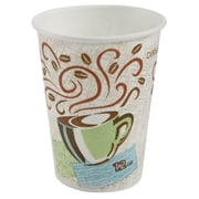 Dixie® PerfecTouch® Insulated Hot Cups, 12 oz., Coffee Haze, 50/Pack (5342CD)