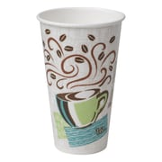 Dixie® PerfecTouch® Insulated Hot Cup by GP PRO, 16 oz., Coffee Haze, 1000/Carton (5356CD)