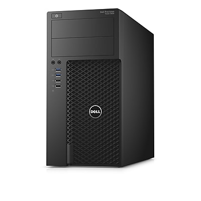 Dell Precision T3620 Intel Core i5-7500 X4 3.4GHz 16GB 512GB SSD, Black (Certified Refurbished)