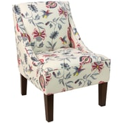 Skyline Furniture Swoop Arm Chair in Jacobean Bright Multi (72-1JCBBRGMLT)