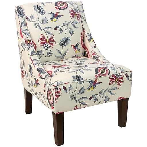 Skyline Furniture Swoop Arm Chair In Jacobean Bright Multi 72 1jcbbrgmlt Https Www Staples 3p S7 Is