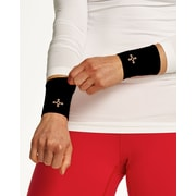 Tommie Copper Women's Core Compression Wrist Sleeve, Black, Large (1601)