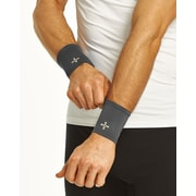 Tommie Copper Men's Core Compression Wrist Sleeve, Slate Grey, Large (1601UR)