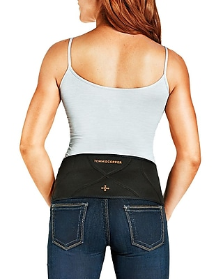 Tommie Copper Women's Comfort Back Brace, Black, S/M (1820WR)