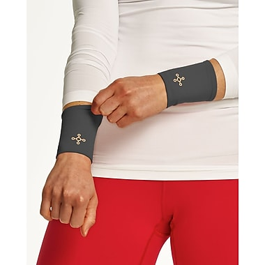 Tommie Copper Women's Core Compression Wrist Sleeve, Slate Grey, Small (1601UR)