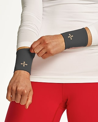 Tommie Copper Women's Core Compression Wrist Sleeve, Slate Grey, Large (1601UR)