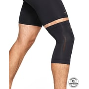 Tommie Copper Men's Core Compression knee Sleeve, Black, Large (0320UR)