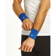 Tommie Copper Men's Core Compression Wrist Sleeve, Cobalt Blue, Medium (1601UR)