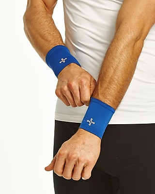 Tommie Copper Men's Core Compression Wrist Sleeve, Cobalt Blue, Small (1601UR)