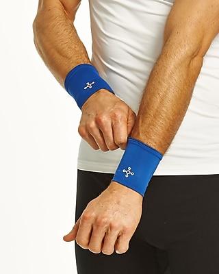 Tommie Copper Men's Core Compression Wrist Sleeve, Cobalt Blue, Medium (1601UR)
