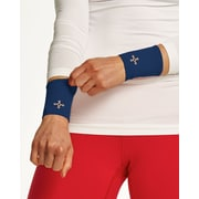 Tommie Copper Women's Core Compression Wrist Sleeve, Cobalt Blue, Large (1601UR)