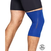 Tommie Copper Men's Core Compression knee Sleeve, Cobalt Blue, Medium (0320UR)