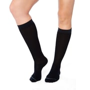 Tommie Copper  Women's Core Compression MicroModal® Over The Calf Socks, Black, 10-12.5 (1733WR)