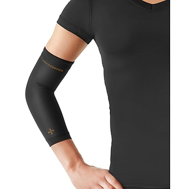 Tommie Copper Women's Core Compression Elbow Sleeve, Black, Large (0503UR)