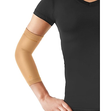 Tommie Copper Women's Core Compression Elbow Sleeve, Nude, Small (0503UR)