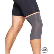 Tommie Copper Men's Core Compression knee Sleeve, Slate Grey, XL (0320UR)