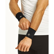 Tommie Copper Men's Core Compression Wrist Sleeve, Black, XL (1601)