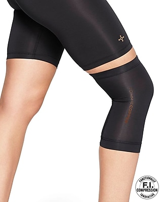 Tommie Copper Women's Core Compression knee Sleeve, Black, Small (0320UR)