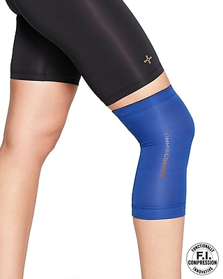 Tommie Copper Women's Core Compression knee Sleeve, Cobalt Blue, XL (0320UR)