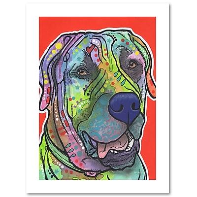 Trademark Fine Art Dean Russo 'Zeus' 18