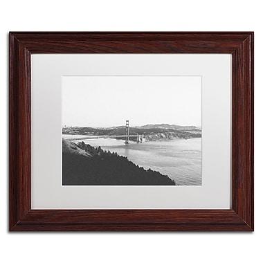 Trademark Fine Art Ariane Moshayedi 'Golden Gate BW' 11