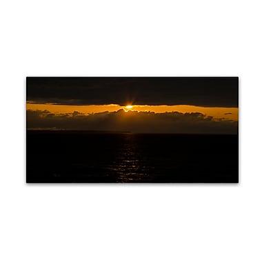 Trademark Fine Art Kurt Shaffer 'Cool Sunset' 10
