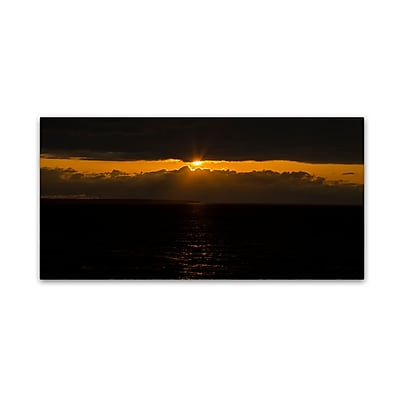Trademark Fine Art Kurt Shaffer 'Cool Sunset' 10