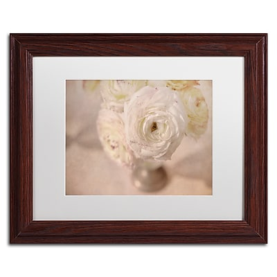Trademark Fine Art Cora Niele 'White Persian Buttercup Still Life' 11