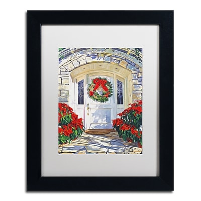 Trademark Fine Art David Lloyd Glover 'Poinsettia House' 11