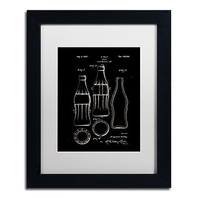 Trademark Fine Art Claire Doherty 'Coca Cola Bottle Patent 1937 Black' 11