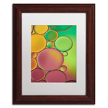 Trademark Fine Art Cora Niele 'Green and Orange Drops' 11