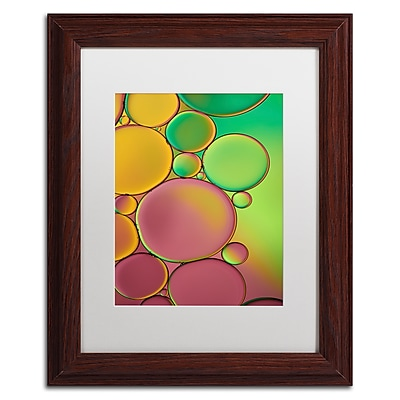 Trademark Fine Art Cora Niele 'Green and Orange Drops' 11