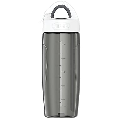 Thermos Tp4706sm6 Eastman Tritan Sport Bottle With Covered Straw, 24oz (gray)