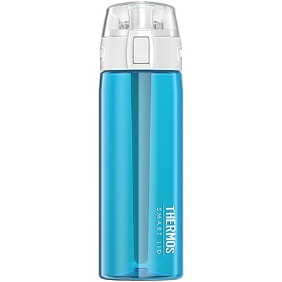 Thermos Sp4005tl4 App-connected Hydration Bottle With Smart Lid, 24oz (teal)