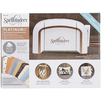 Spellbinders Platinum 6.0 Cut & Emboss Machine-