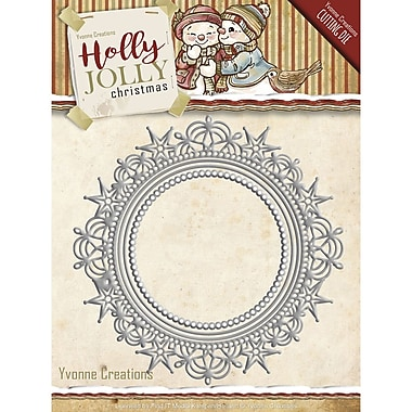 Find It Trading Yvonne Creations Holly Jolly Die-Nesting Frame