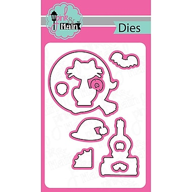 Pink And Main Dies-Witch Brew, 9/Pkg