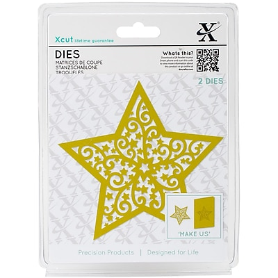 Xcut Decorative Die-Filigree Christmas Star