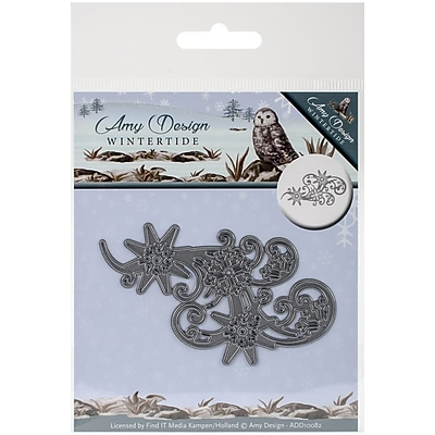 Find It Trading Amy Design Wintertide Die-Ice Crystal Swirl