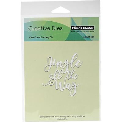 Penny Black Creative Dies-Jingle All The Way