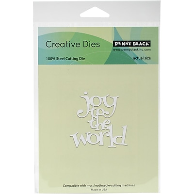 Penny Black Creative Dies-Joy To The World