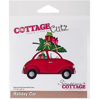 CottageCutz Die-Holiday Car, 3.2